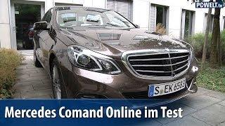 Mercedes Comand Online im PC-WELT-Test | deutsch / german
