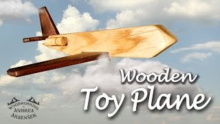 Wooden Toy Plane - Ep 036 (makers Care)