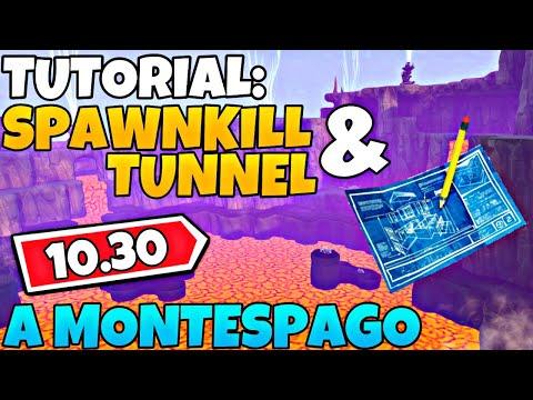 Tutorial: Spawnkill & Tunnel A Montespago (Endurance 10.30)   Fortnite - Salva Il Mondo