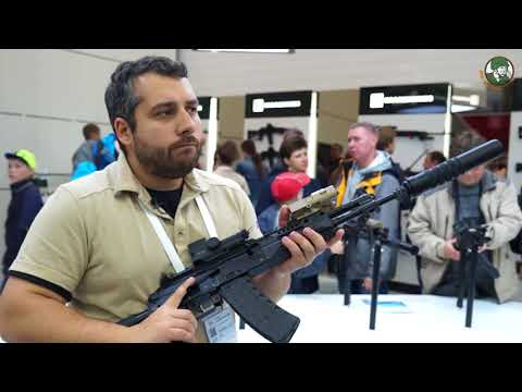 Army2017 Kalashnikov new military products small arms defens exhibition Russia