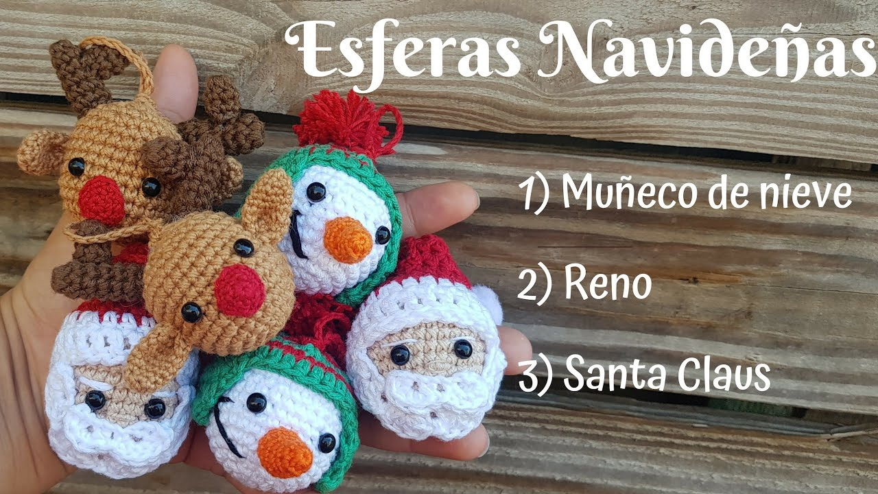 Amigurumi reindeer ornament - free pattern /// patron gratis reno ... | 720x1280