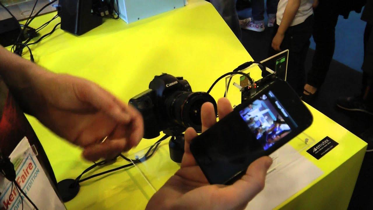 Emutex - CamIO – DSLR Camera control