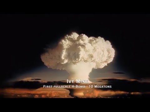 [Atomic Bomb] -- Ivy Mike -- (first full scale H-bomb)