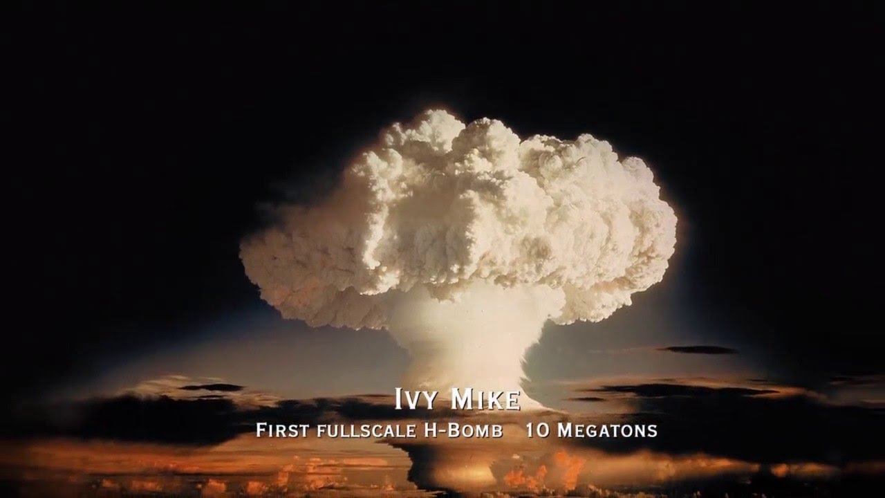 [Atomic Bomb] -- Ivy Mike -- (first full scale H-bomb ...