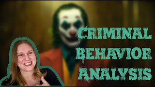 Criminal Behavior Analysis of 'JOKER'