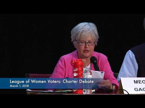 League of Women Voters Presents: Town Charter Debate 2018
