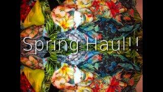 Spring Haul!! Thumbnail