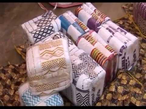 Launching New Kente Cloth At Bonwire KENTE Festivals 2017