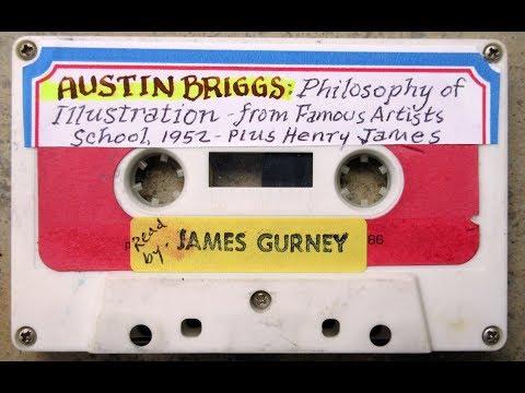 Art Talk Tape: AUSTIN BRIGGS' PHILOSOPHY OF ILLUSTRATION