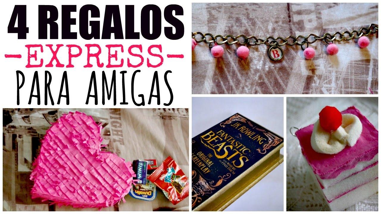 Regalos para amigas bonitos y f ciles ame may n 14 de - Regalos bonitos para navidad ...