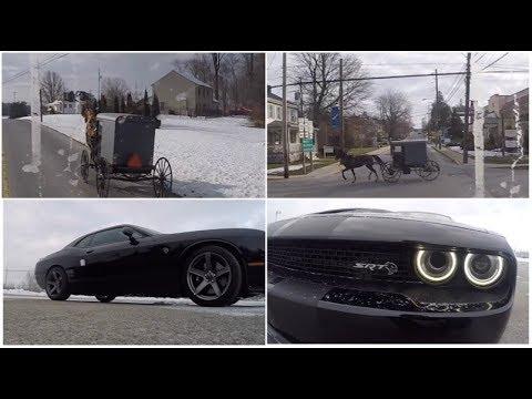 Amish Atrapalhando o Transito e Dodge Hellcat - Ep12/18