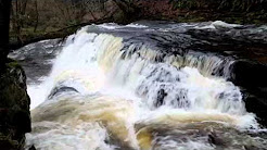 Four Waterfalls near Ystradfellte, Wales
