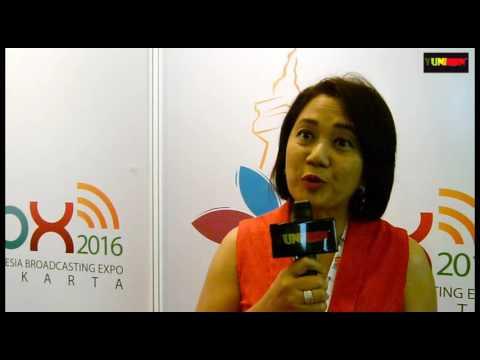 WOMAN IN BEHIND INDONESIA BROADCASTING EXPO INTERVIEW WITH IBU R  SHANTI RUWYASTUTI
