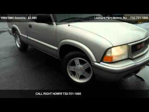 1999 gmc sonoma sls for sale in point pleasant nj for Leonard perry motors nj