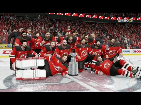 NHL 18 - New Jersey Devils Stanley Cup Celebration