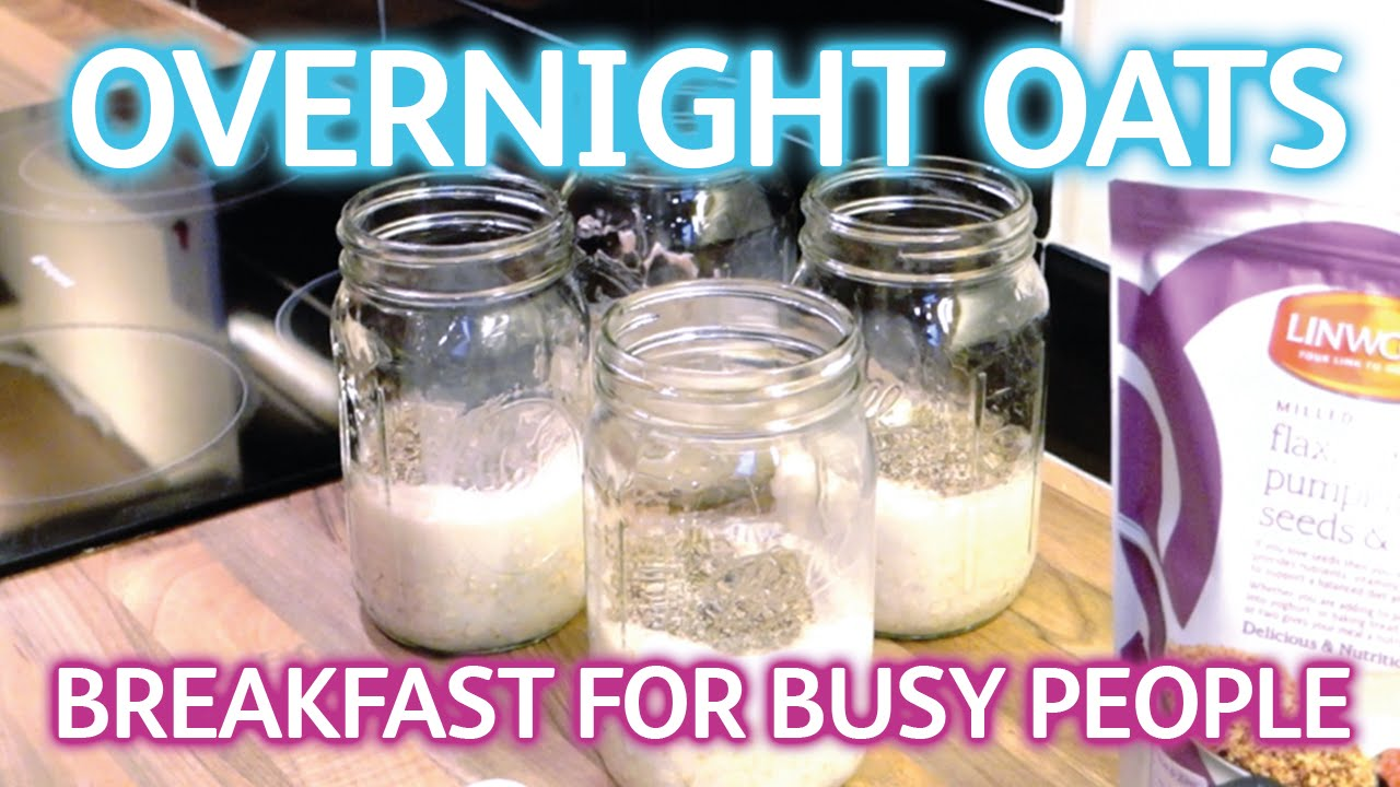 Healthy Breakfast - Overnight Oats in a Mason Jar - Weight ...