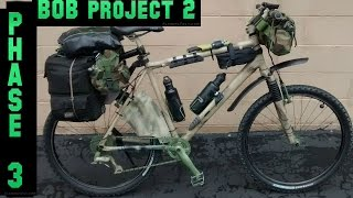 Stealth Bug Out Survival Vehicle-camping Bikepacking Bike-project 2 Phase 3