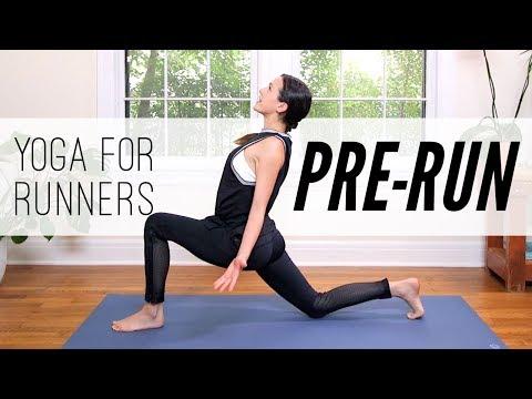 Yoga For Runners: 7 MIN PRE-RUN  |  Yoga With Adriene