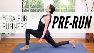 Yoga For Runners: 7 MIN PRE-RUN   |   Yoga With Adriene