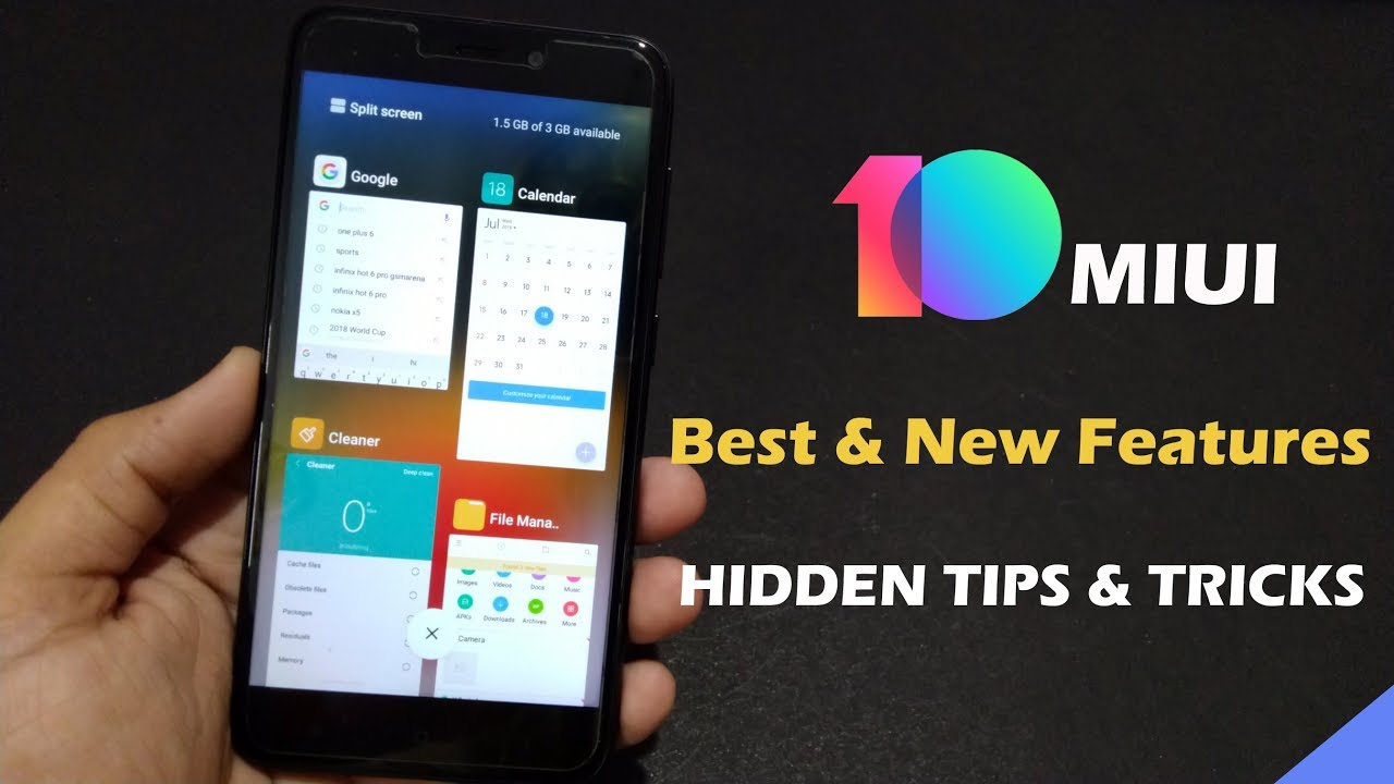 MIUI 10 Hidden Features | Tips and Tricks & Secret Setting | in Hindi