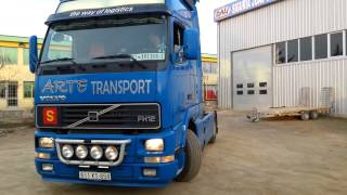 DRIVING A VOLVO FH12.460