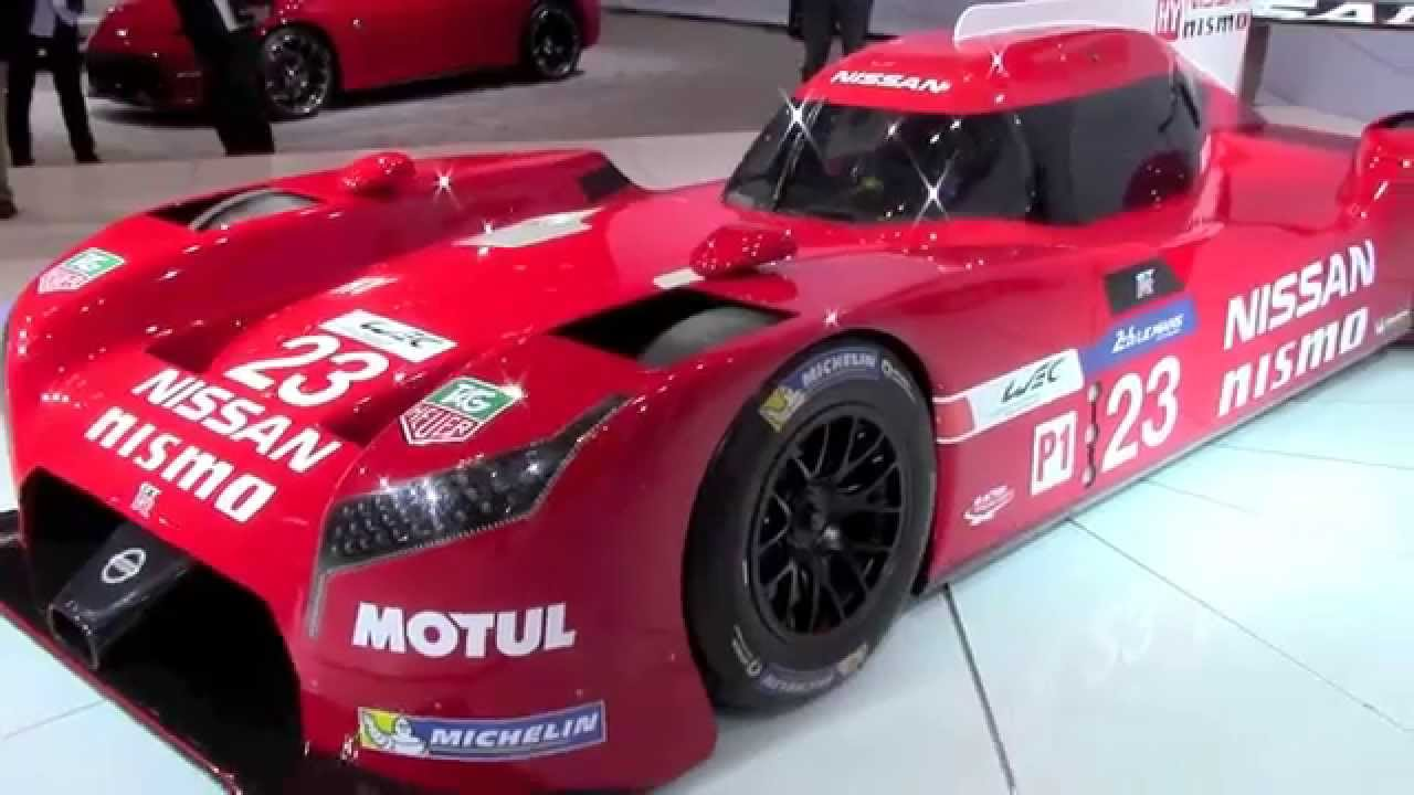 2015 nissan gt r nismo 24 hours of le mans race car for Garage automobile le mans
