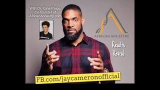 Jay Camerons African Ancestry DNA Reveal  - Join Jay In Ghana this Nov bitlyghanaonlineinterest