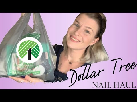 DOLLAR TREE HAUL + GIVEAWAY | Nail Supplies You Can Find At The Dollar Tree