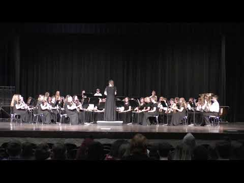 """Arab Junior High School Band - 2019 State Music Performance Assessment - """"St. Petersburg March"""""""