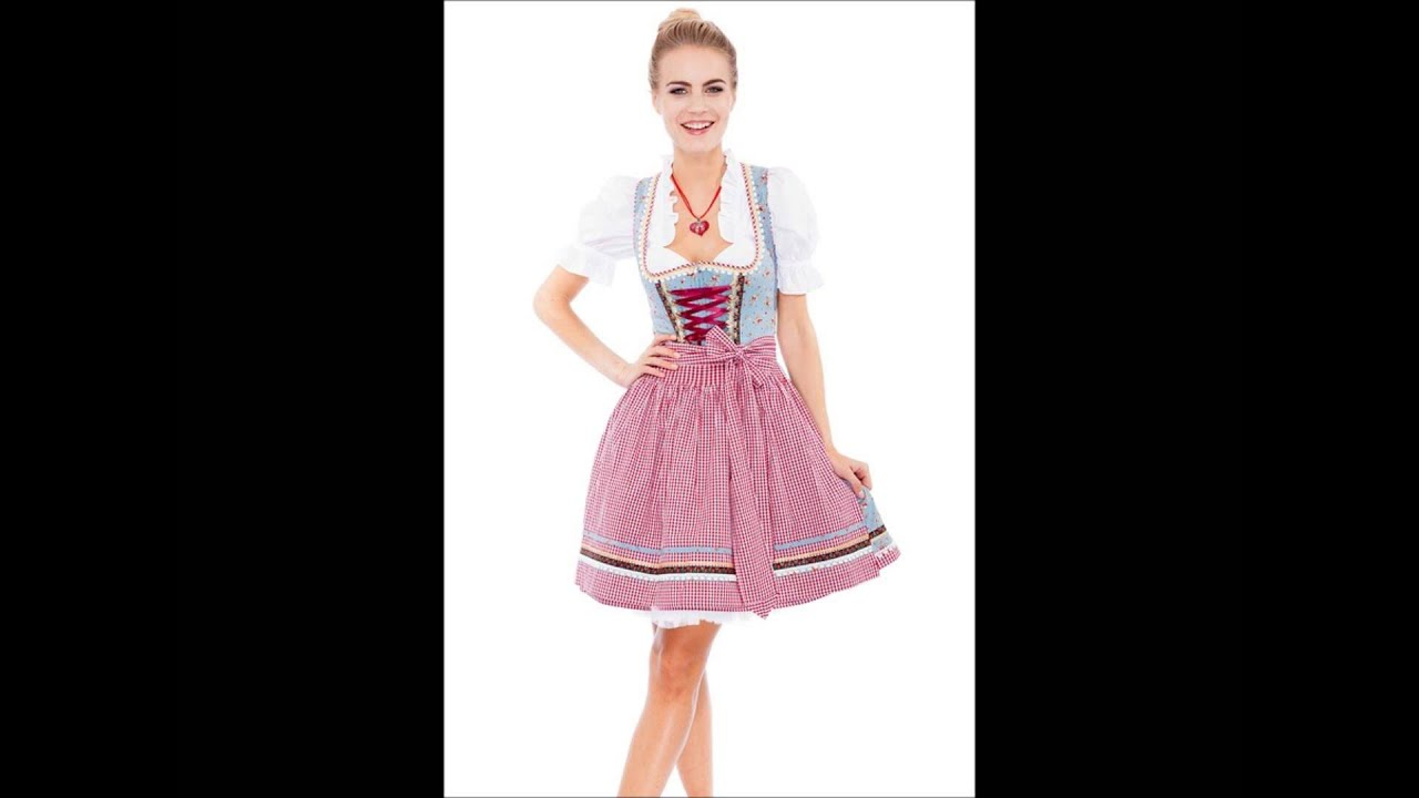 kr ger madl damen oktoberfest mini dirndl kleid kurz rosa. Black Bedroom Furniture Sets. Home Design Ideas