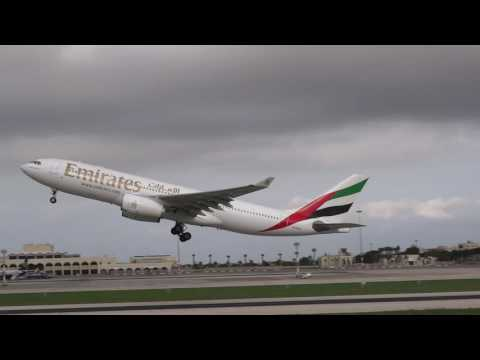 Malta Luqa Emirates