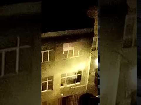 Incendio en la calle Río Neira de Lugo