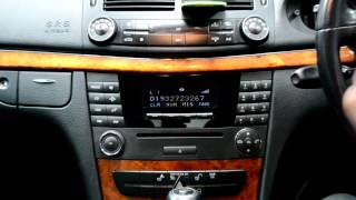mercedes E Bluetooth Retrofit