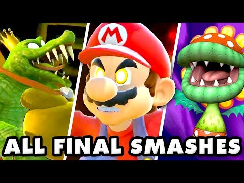 Super Smash Brothers Ultimate - All Final Smashes