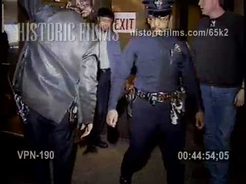 PENN STATION SHOOTING 34 STREET AND 8 AVENUE MANHATTAN - 1990