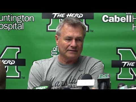 Dan D'Antoni comments from Marshall Men's Basketball Media Day
