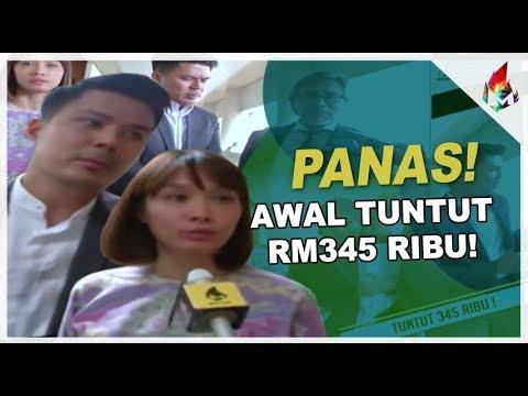 PANAS! Awal Tuntut 345 Ribu! | Melodi 2018