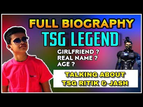 TSG LEGEND FULL BIOGRAPHY || REAL NAME , AGE & HOW DO I MEET TSG JASH & RITIK || LIVE REACTION