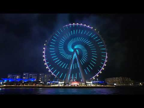 LIVE: Dubai Eye ferris wheel opens with fireworks, drone show