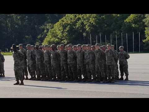 Fort Benning military graduation 8-18-16