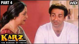 Karz Hindi Movie | Part 4 | Sunny Deol, Sunil Shetty, Shilpa Shetty, Ashutosh Rana | Action Movies