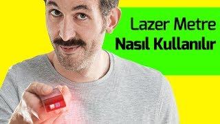 Lazer Metre Kullanımı