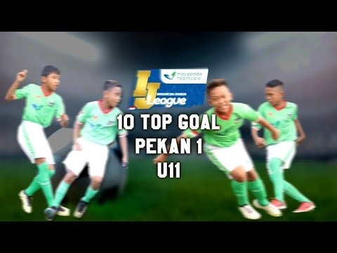 Top 10 Goal Indonesia Junior Mayapada League pekan ke-1 [U11] 11-2-2018