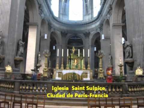EURO1-22: IGLESIA SAINT SULPICE CÓDIGO DAVINCI, PARÍS ...
