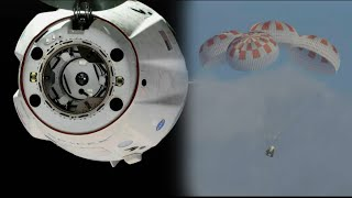 SpaceX Crew Dragon DM-1 Undocking, Splashdown, and Recovery