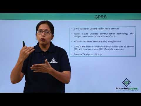 Mobile Communication Protocols - GPRS