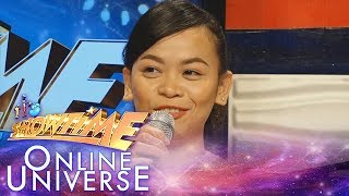 Showtime Online Universe: May Masculino sidelines as an
