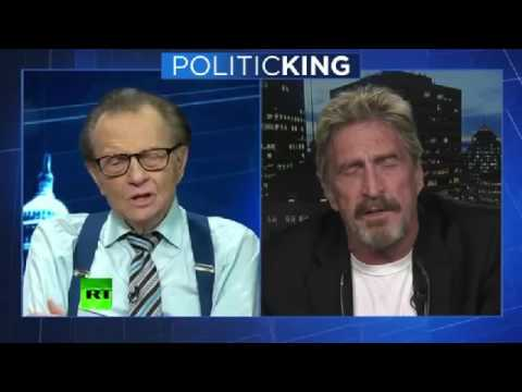 McAfee on Russian Hacking and Cybersecurity