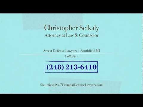 http://southfield.24-7criminaldefenselawyers.com/, We are your Arrest Defense Lawyers in Southfield MI. Call Us Today at (248) 213-6410  or Visit:  Christopher Seikaly, Attorney at Law & Counselor 24359 Northwestern Hwy, #200-A Southfield, MI 48075 United States (248) 213-6410 criminal.lawyer.247@gmail.com http://southfield.24-7criminaldefenselawyers.com/  Christopher Seikaly, Attorney At Law & Counselor delivers Southfield clients industry leading Arrest Defense Lawyers products and services. Our firm specializes in DUI Defense, Domestic Violence Court Appearances and Federal Court Representation. Christopher Seikaly, Attorney At Law & Counselor has grown to be Southfield MI's Arrest Defense Lawyers Industry leader. Our exceptional client assistance personnel is looking forward to helping you. For further information contact us at: (248) 213-6410