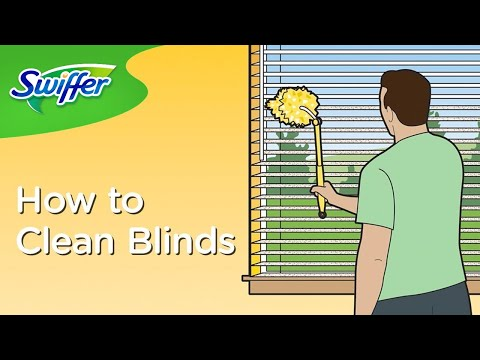 How to Clean Window Blinds with Swiffer Dusters | Swiffer